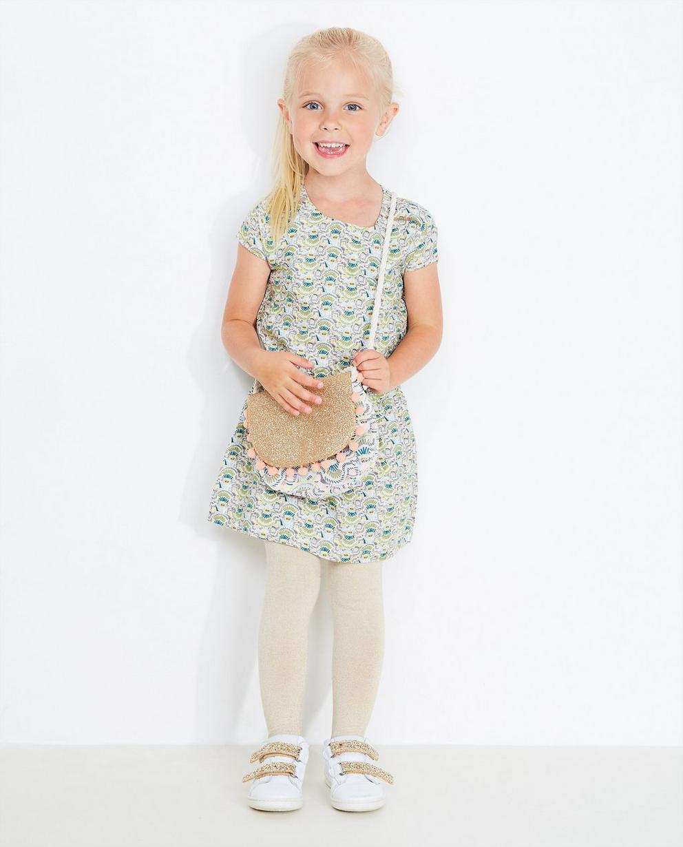 Kleid mit buntem Print - aus weicher Viskose - JBC